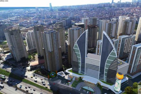 Dreaming Turkey Different Downtown Complex U-Shaped Building