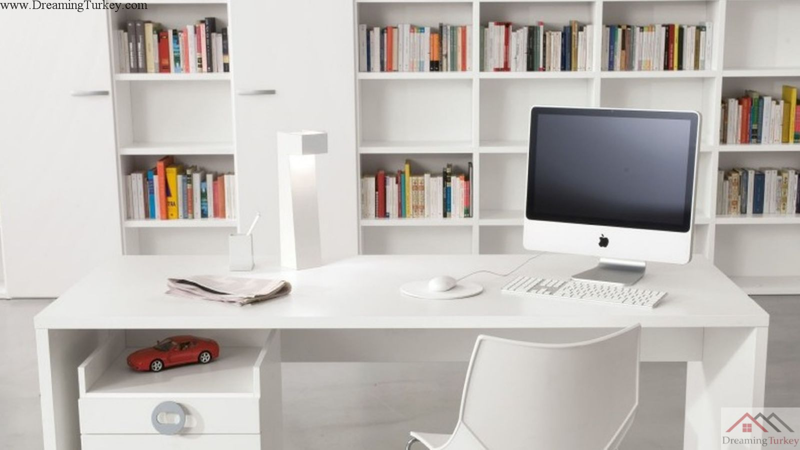 1-Bedroom Home-Office inside a Complex in Istanbul