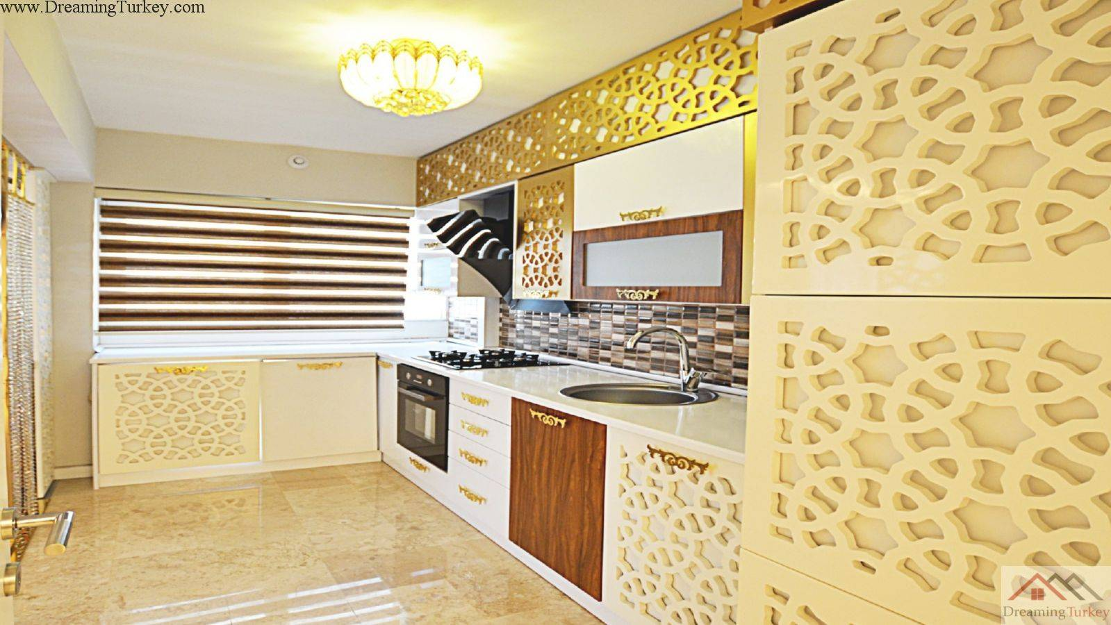 1-Bedroom Apartment inside a Complex in Istanbul
