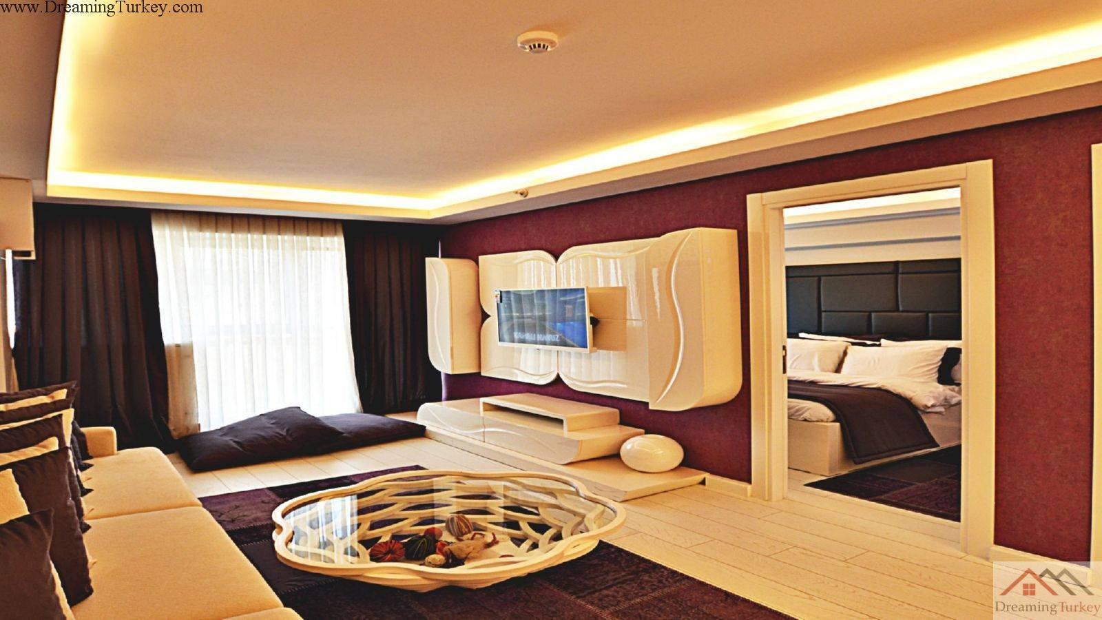 3-Bedroom Apartment inside a Complex in Istanbul