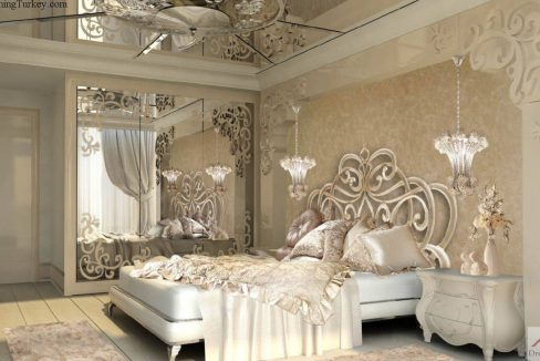 Dreaming Turkey Different Downtown Complex VIP Luxury Design Bedroom