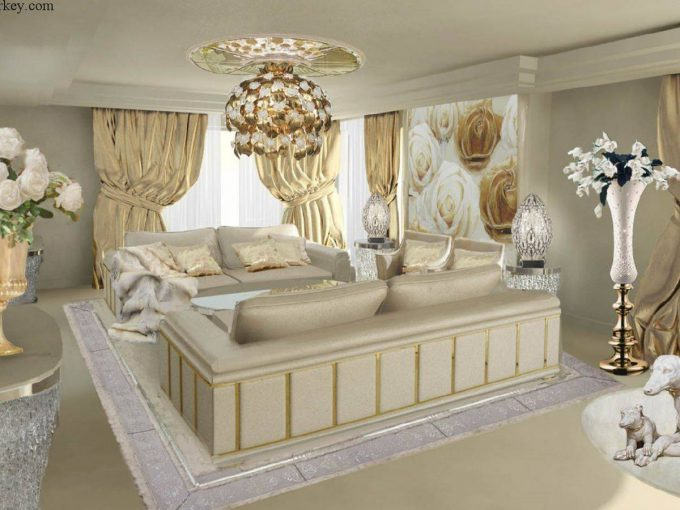 Dreaming Turkey Different Downtown Complex VIP Luxury Design Living Room