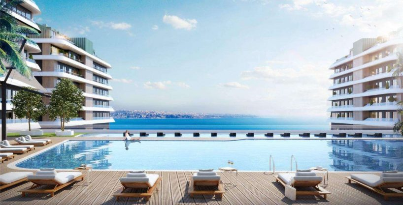 5-Bedroom Apartment inside a Coastal Complex in Istanbul