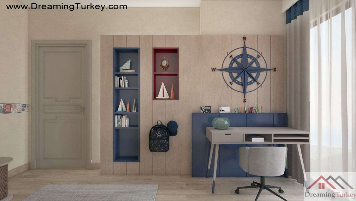 Apartment Near the Sea in Istanbul Boy's Room