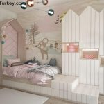Apartment Near the Sea in Istanbul Girl's Room