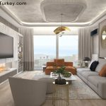 Apartment Near the Sea in Istanbul TV Room