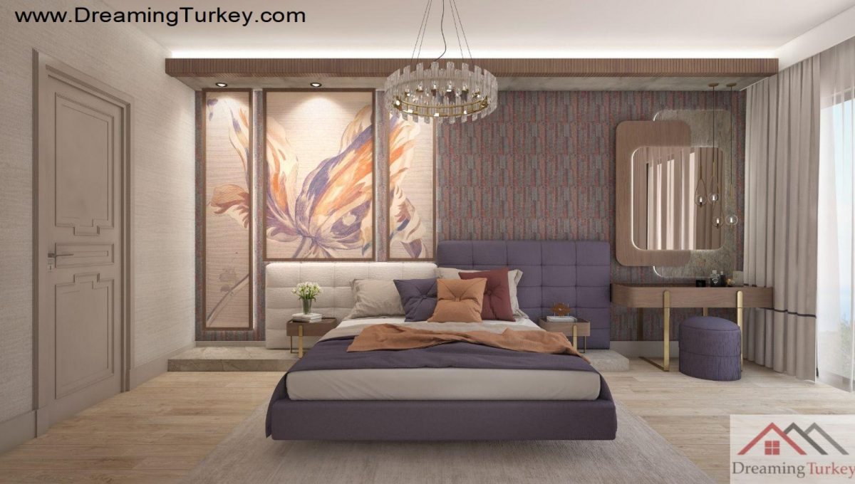 Apartment Near the Sea in Istanbul Bedroom