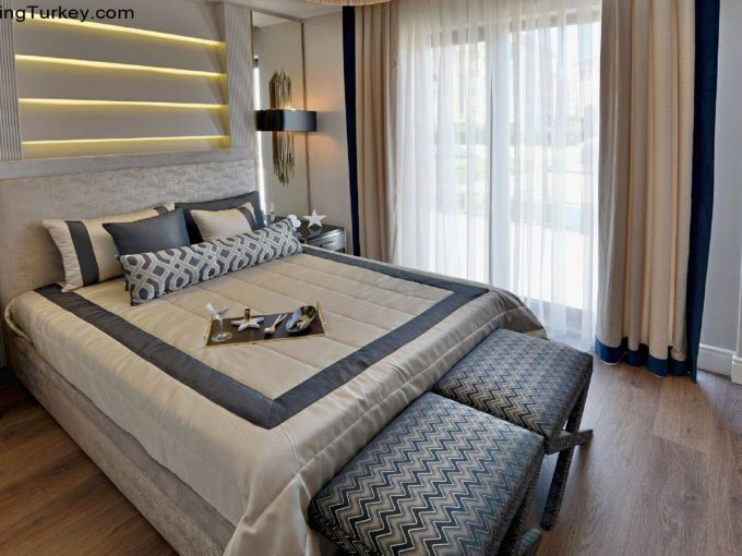 Apartment Near the Beach in Istanbul Bedroom