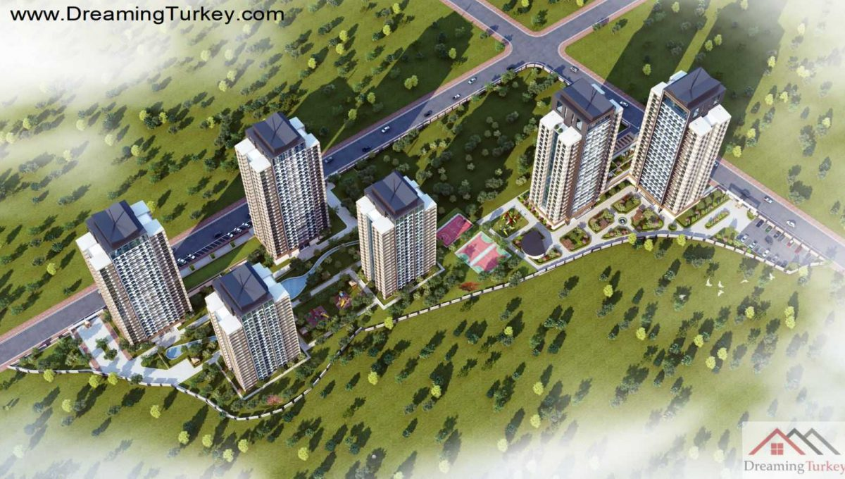 Apartment Inside a Modern Complex Close to Highway in Istanbul 1