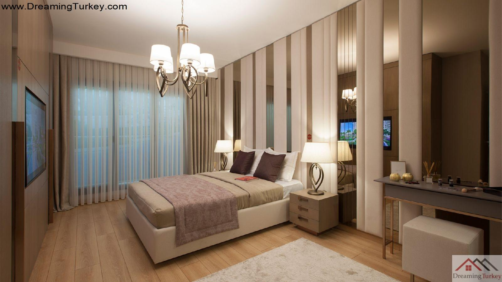 3-Bedroom Apartment inside a Luxury Complex in Istanbul