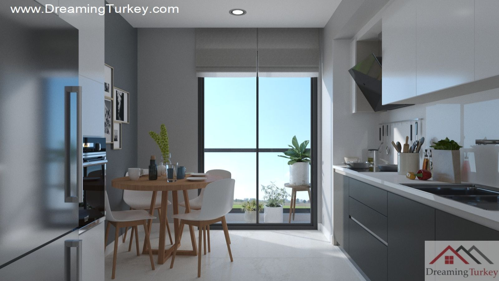 1-Bedroom Apartment Near the Lake in Istanbul