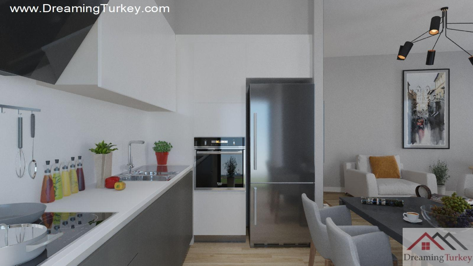 2-Bedroom Apartment Near the Lake in Istanbul