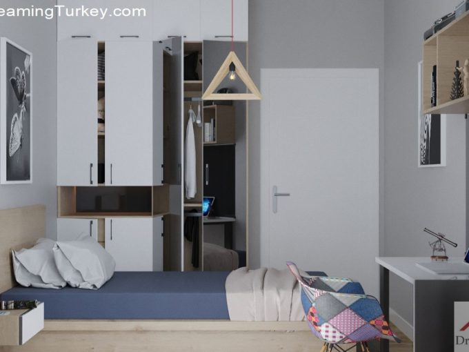 Apartment Near the Lake in Istanbul | Boy's Room