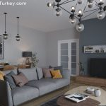 Apartment Near the Lake in Istanbul   Living Room