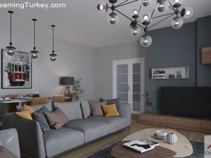Apartment Near the Lake in Istanbul | Living Room