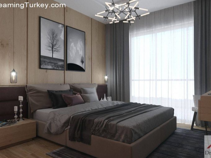Apartment Near the Lake in Istanbul | Bedroom