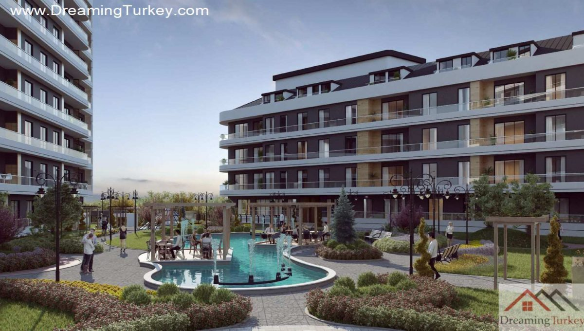 Apartment Near the Lake in Istanbul | Fountain