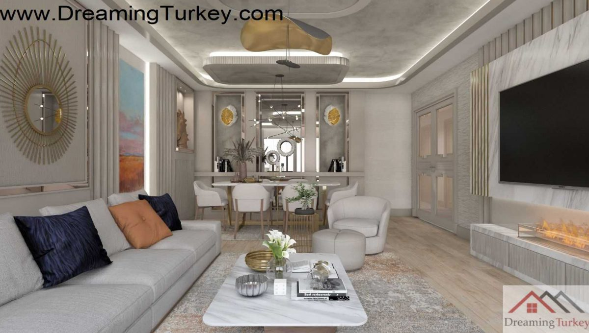 Apartment in the center of Istanbul 4+1