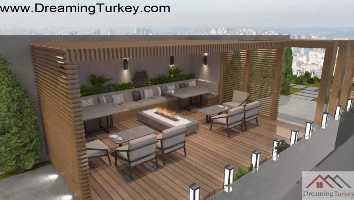 Apartment in the Center of Istanbul | Roof Terrace
