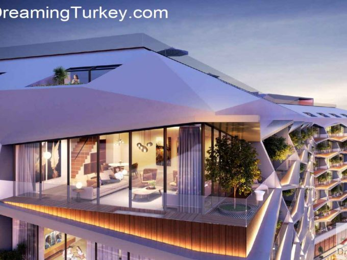 Duplex Apartment in the Heart of Istanbul 2+1