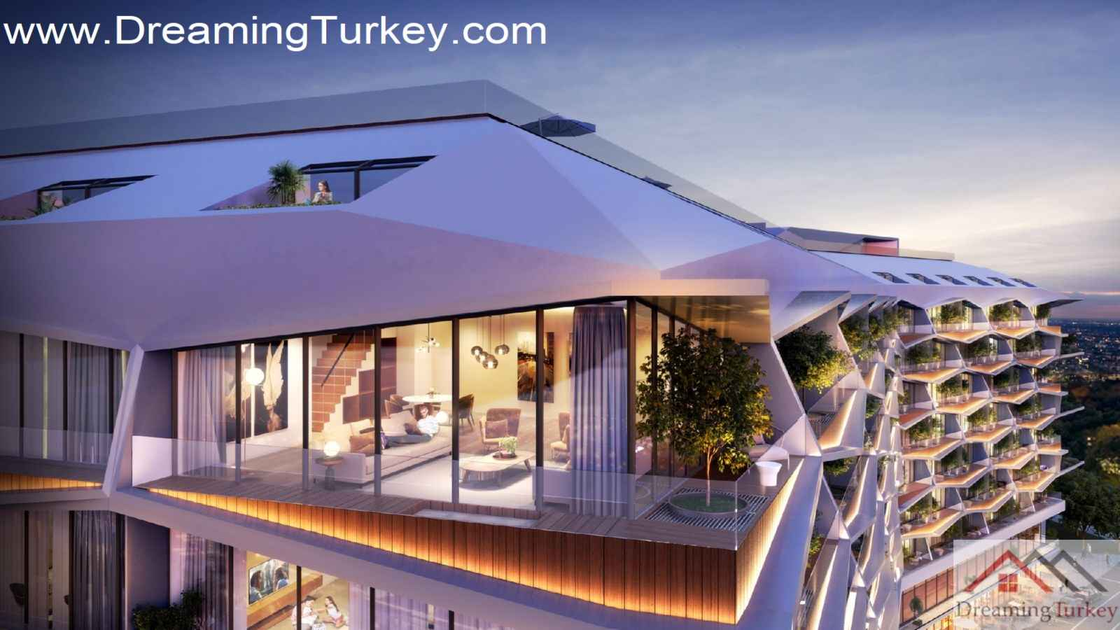 2-Bedroom Duplex Residence in the Heart of Istanbul