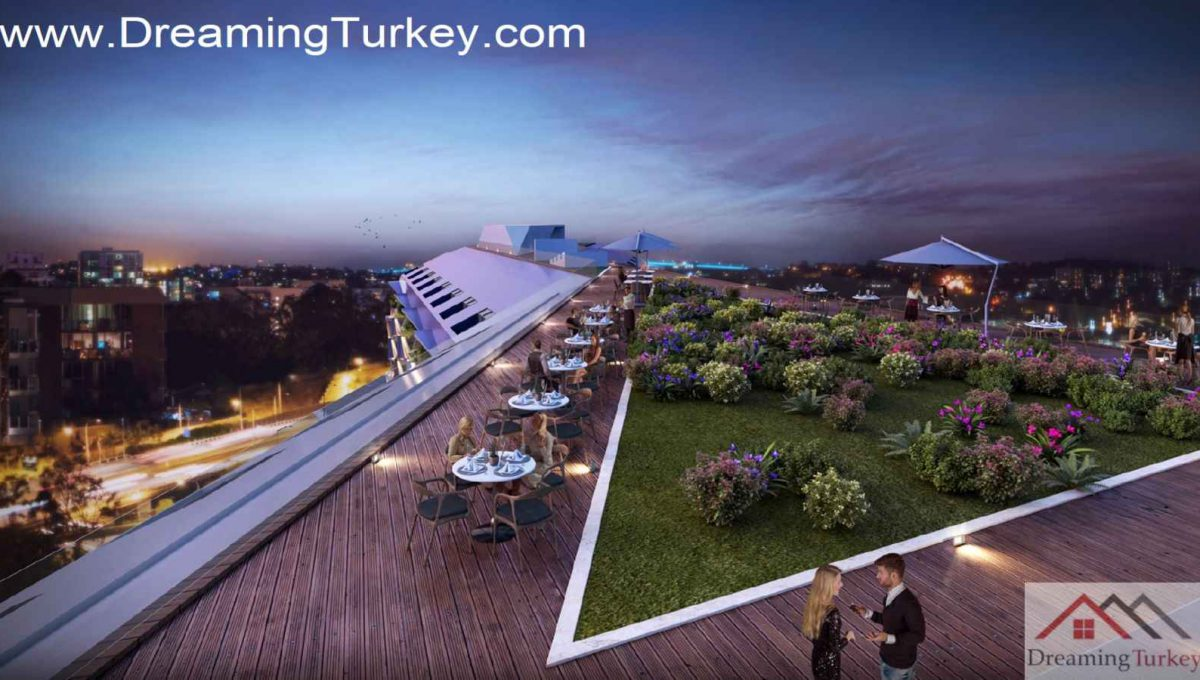 Residence Apartment in the Heart of Istanbul Roof Terrace