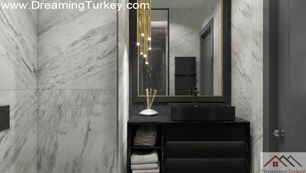 Residence Apartment in the Heart of Istanbul Bathroom