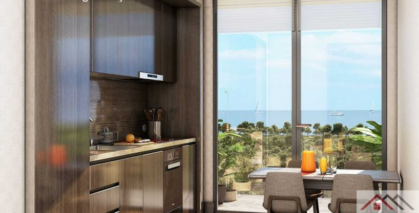 Residence Near the Sea in the Center of Istanbul 1+1