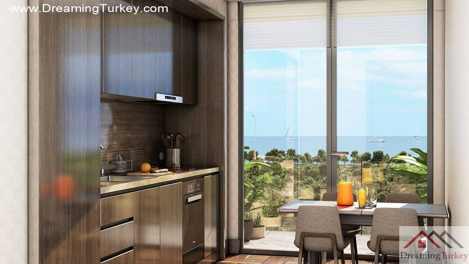1-Bedroom Residence Near the Sea in the Center of Istanbul