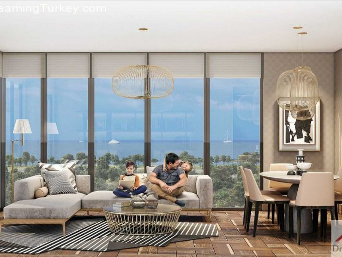 Residence Near the Sea in the Center of Istanbul 3+1