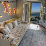 Child's Room with a Sea View in a Modern Complex in Istanbul