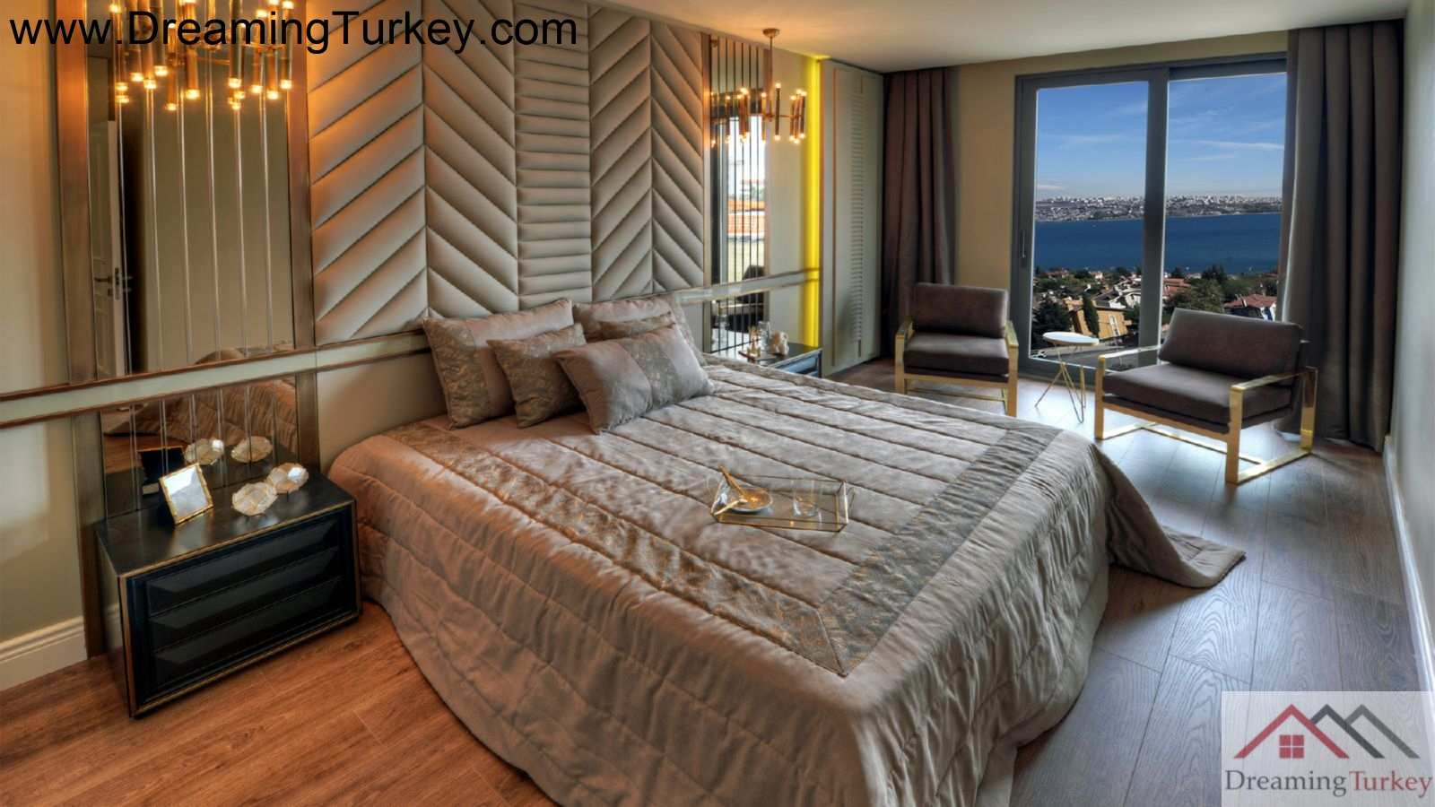 4-Bedroom Apartment with a Sea View in a Modern Complex