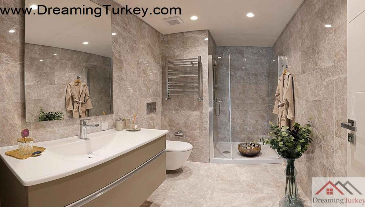 Luxury Complex with an Artificial Lake in Istanbul 1+0