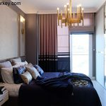 Bedroom in a Complex Close to the Sea in Istanbul