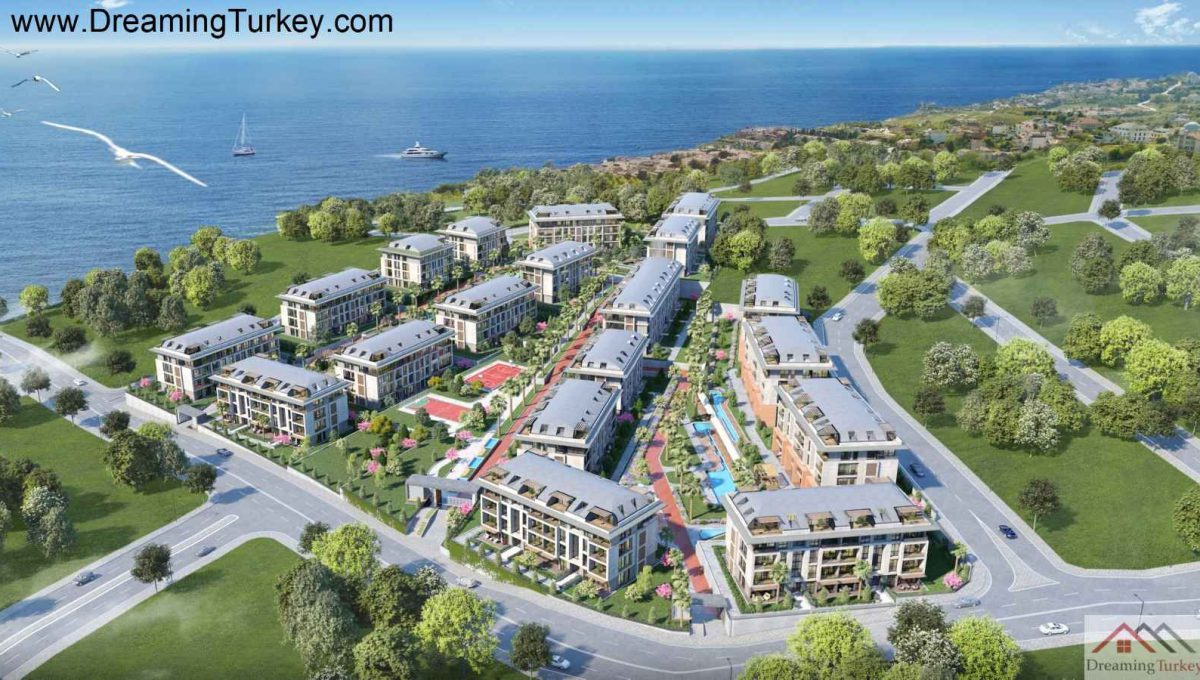 Complex Close to the Sea in Istanbul