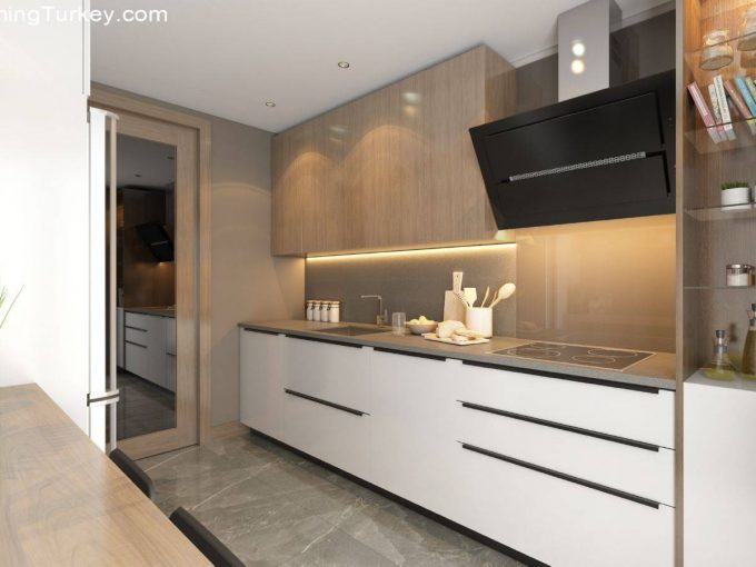 Apartment in a Fully Equipped Complex in Istanbul 3+1