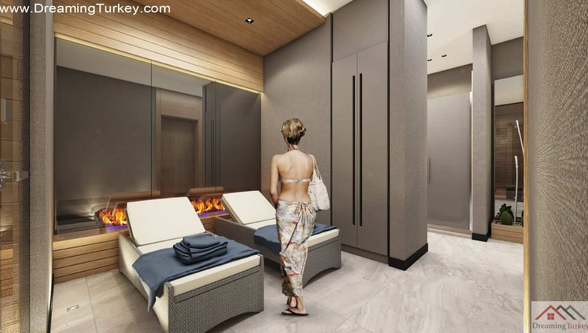 Massage Salon in a Fully Equipped Complex in Istanbul