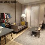 Apartment in a Smart Complex Next to the Highway in Istanbul 2+1