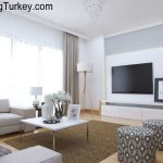 Duplex Villa with a Sea View in Istanbul | Living Room