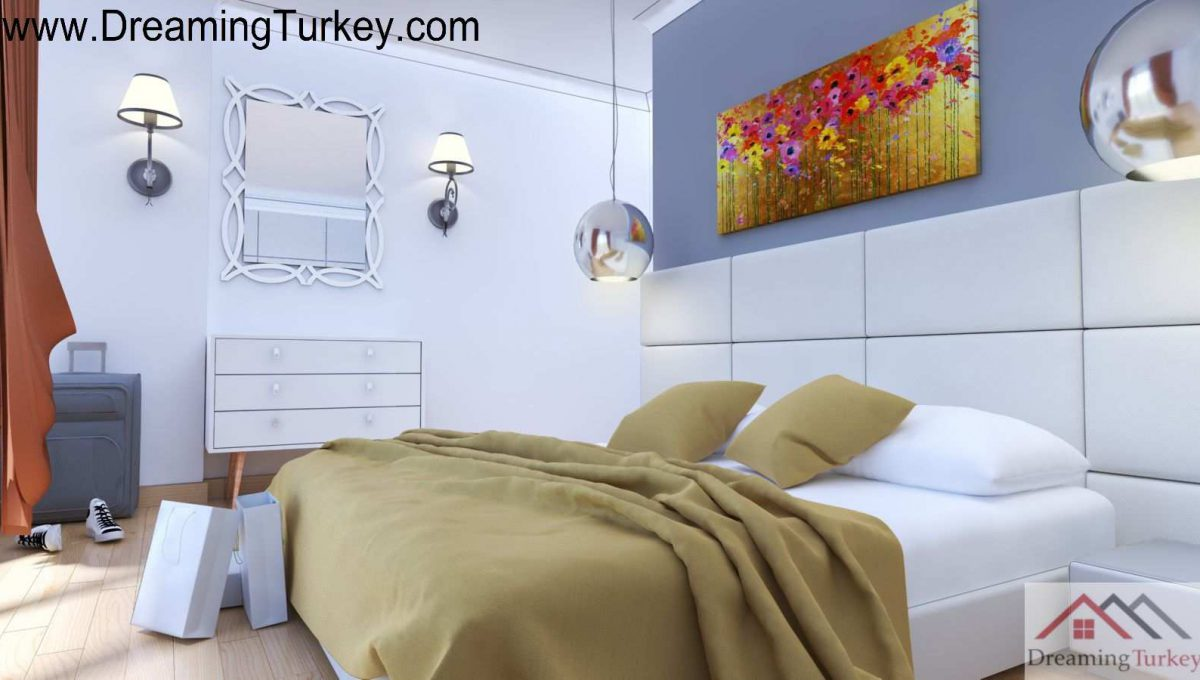 Duplex Villa with a Sea View in Istanbul | Bedroom
