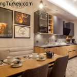 Apartment with a Lake View in a Modern Complex in Istanbul 1+1