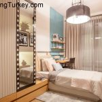 Apartment with a Lake View in a Modern Complex in Istanbul 2+1
