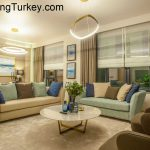 Duplex with a Lake View in a Modern Complex in Istanbul 3+1