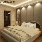 Apartment Inside a Complex with Nature Views in Istanbul 2+1