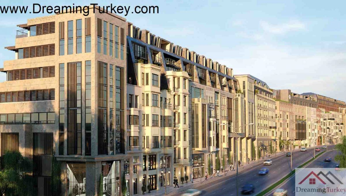 Residence Apartment near Taksim Square in Istanbul 2+1