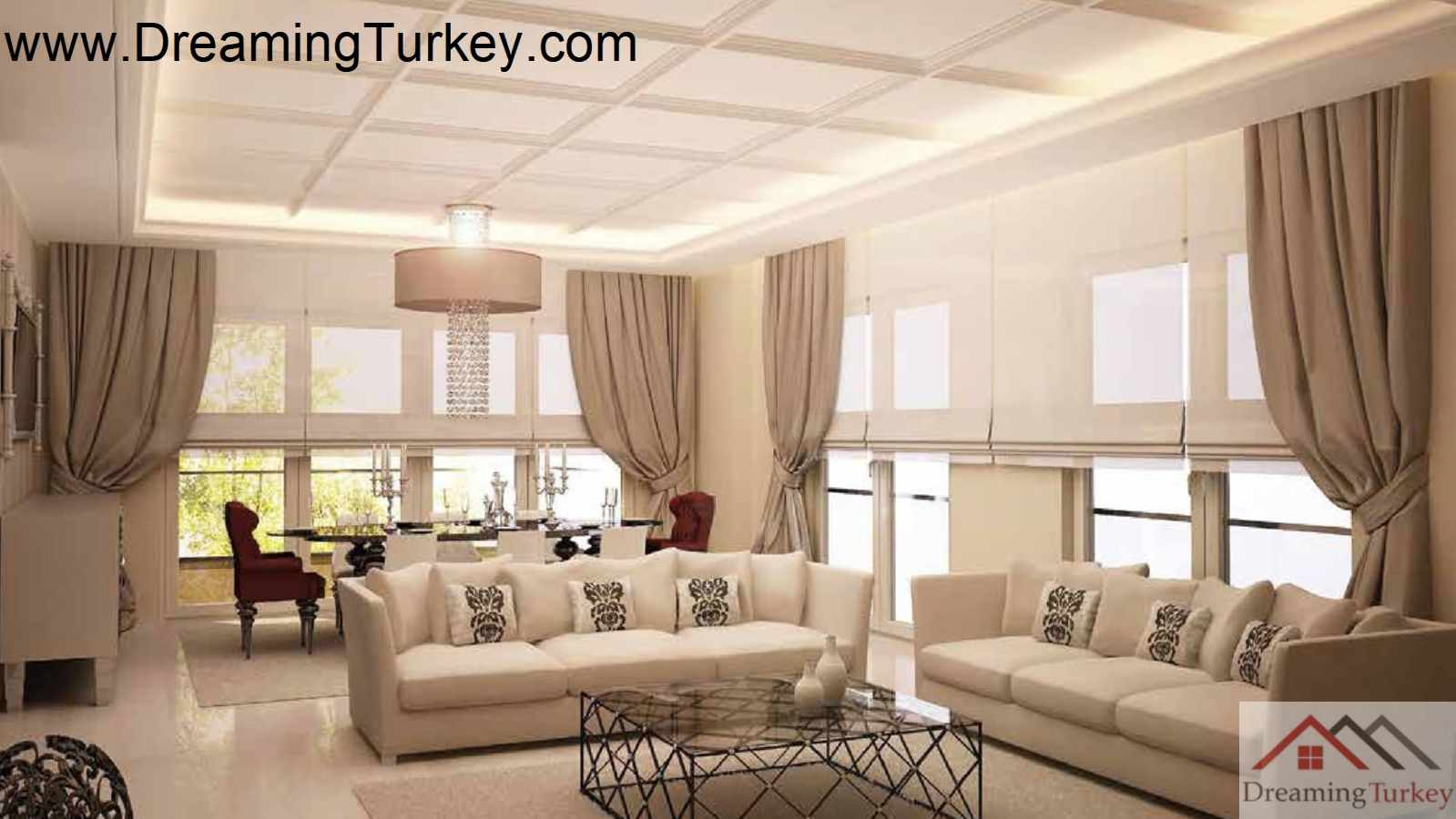 3-Bedroom Apartment in a Modern Complex Near the Metrobus