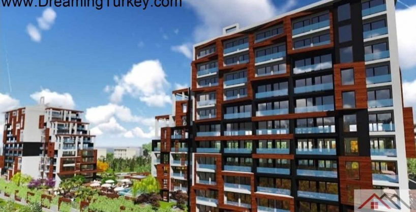 Modern Complex Near the Metrobus in Istanbul 4+1