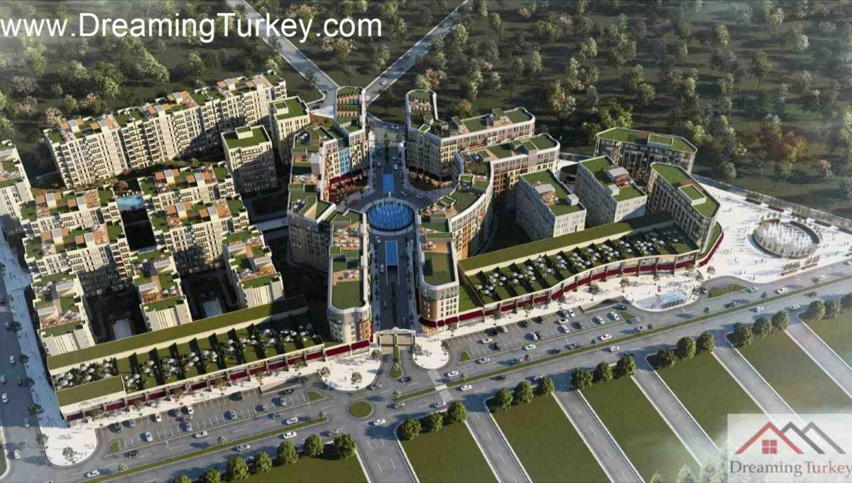 Classic Complex with a Lake View in Istanbul 1