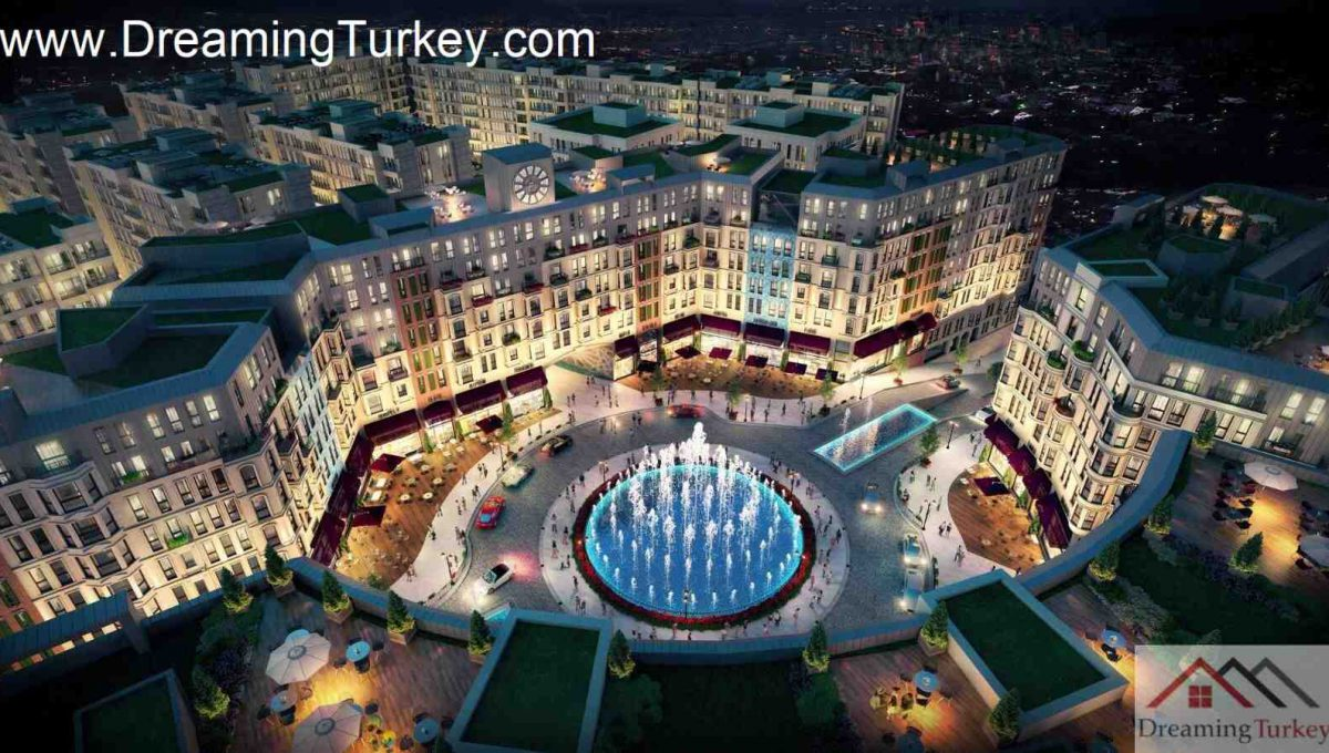 Classic Complex with a Lake View in Istanbul 3
