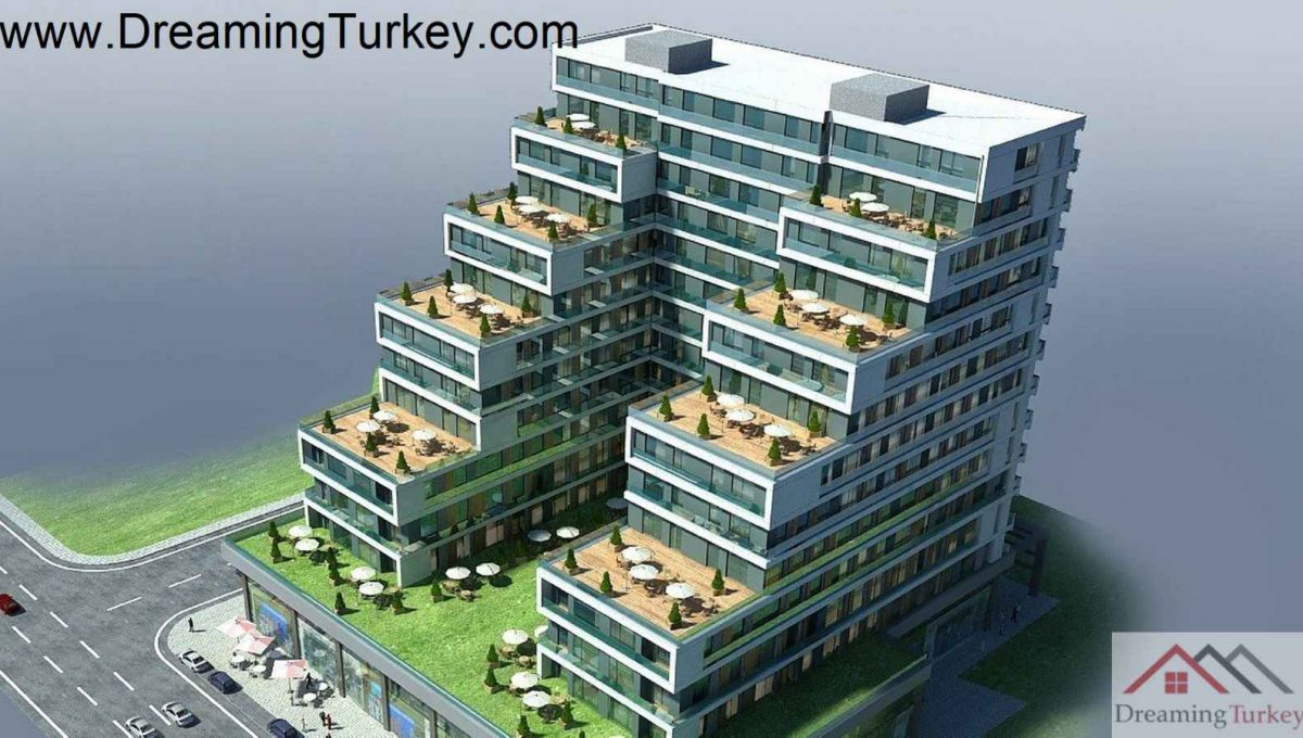 Apartment with a Sea View Next to the Metrobus in Istanbul 2